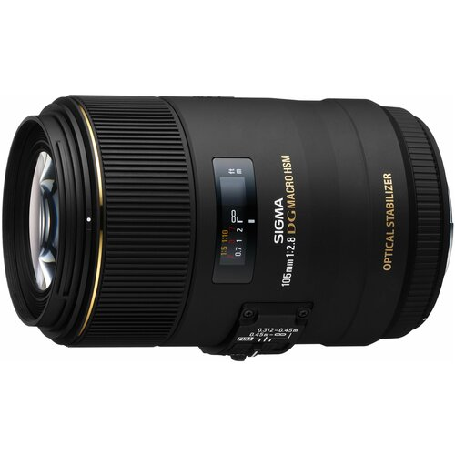 Объектив Sigma AF 105mm f/2.8 EX DG OS HSM Macro Canon EF объектив sigma af 60 600mm f 4 5 6 3 dg os hsm s nikon