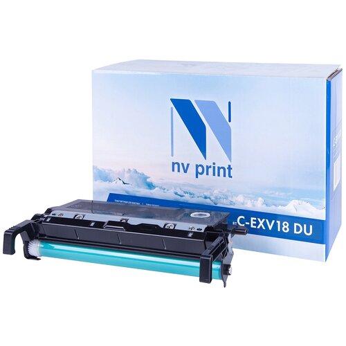 Фото - Фотобарабан NV Print C-EXV18 DU свитшот print bar манчестер у моря