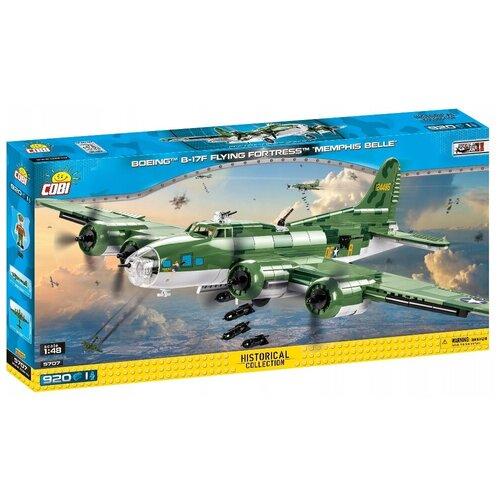 Фото - Конструктор Cobi Small Army World War II 5707 Boeing B-17F Flying Fortress конструктор cobi small army world war ii 2188 амфибия vw typ 166 schwimmwagen