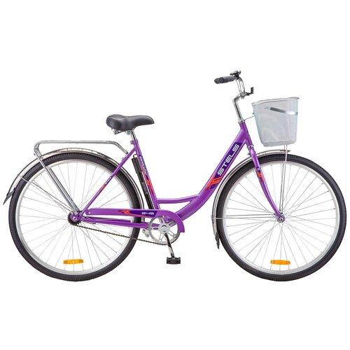 детский велосипед navigator bingo вн12158 белый с рисунком требует финальной сборки Городской велосипед STELS Navigator 345 28 Z010 с корзиной (2018) фиолетовый 20 (требует финальной сборки)