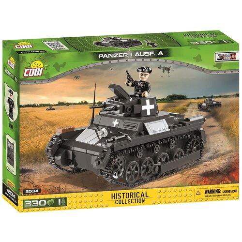 Фото - Конструктор Cobi Small Army World War II 2534 Германский легкий танк Panzer I конструктор cobi small army world war ii 2188 амфибия vw typ 166 schwimmwagen
