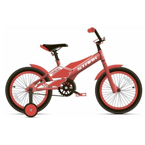 Детский велосипед STARK Tanuki 16 Boy (2020) красный/белый (требует финальной сборки) недорого