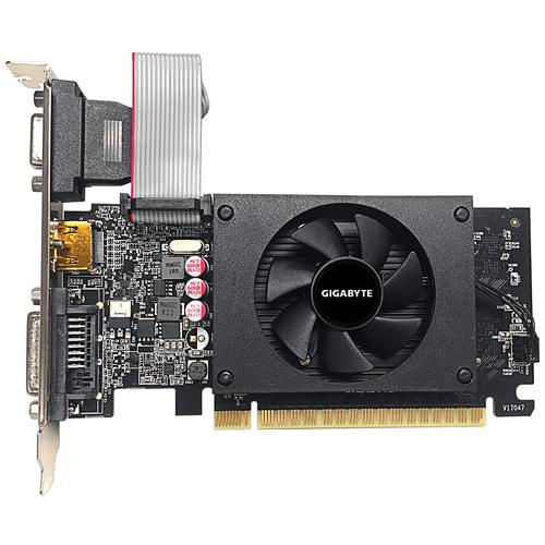 Видеокарта GIGABYTE GeForce GT 710 2GB (GV-N710D5-2GIL), Retail