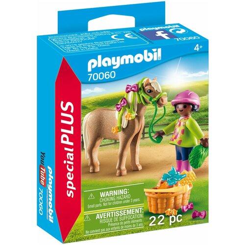 Конструктор Playmobil Special Plus 70060 Девочка с пони