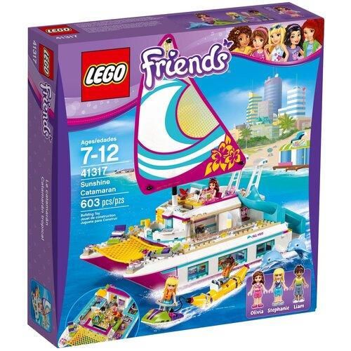 Конструктор LEGO Friends 41317 Катамаран Сияние