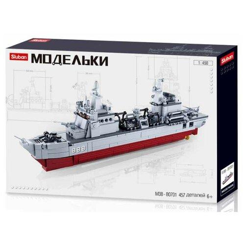 Конструктор SLUBAN Модельки M38-B0701 Корабль снабжения