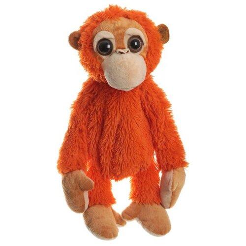 Игрушка-сумка SNOWMEN Обезьянка оранжевая 43 см