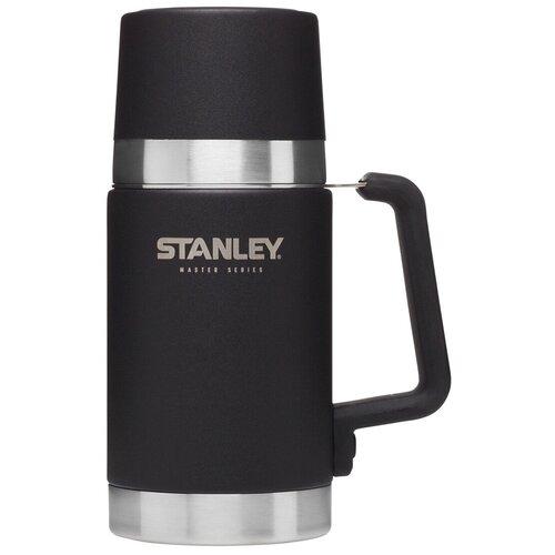 Термос для еды STANLEY Master Vacuum Food Jar, 0.7 л черный