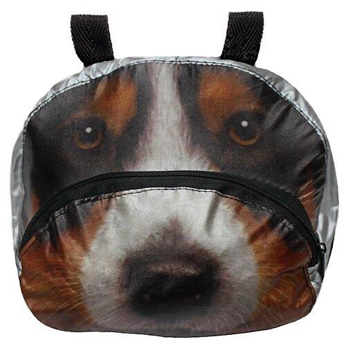 Сумка-чехол для самоката RT Собака коричневый