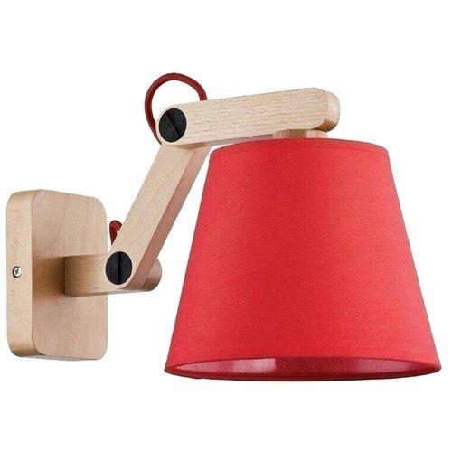 Настенный светильник Alfa Joga Red 22240, 60 Вт недорого