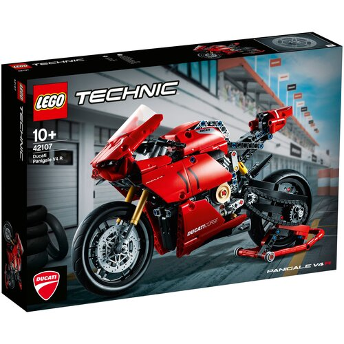 Фото - Конструктор LEGO Technic 42107 Ducati Panigale V4 R олег капкаев ducati 1199 panigale модельный ряд