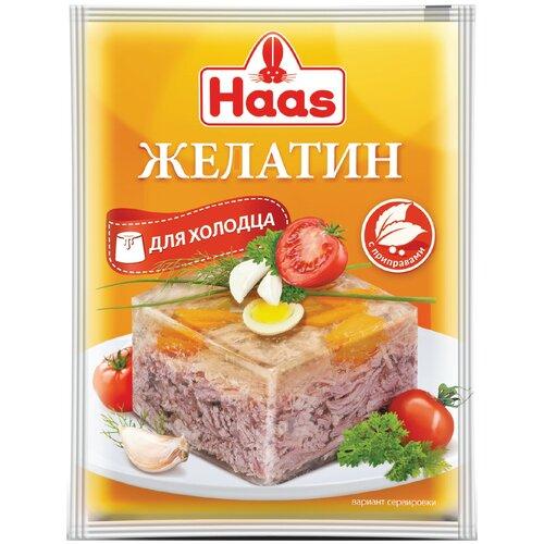 Haas Желатин для холодца с приправами 25 г