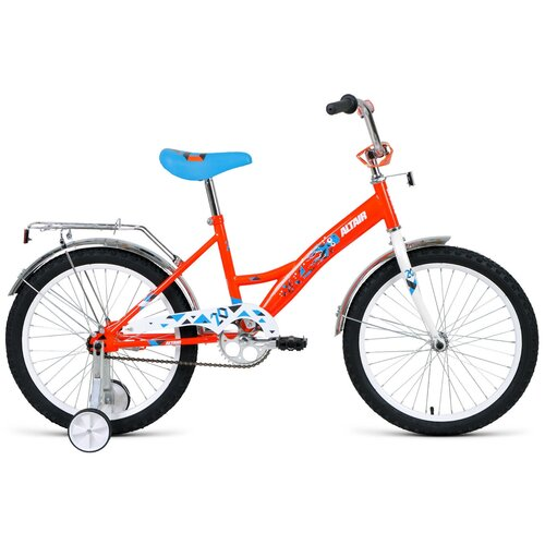 """Детский велосипед ALTAIR Kids 20 (2019) оранжевый 13"""" (требует финальной сборки)"""