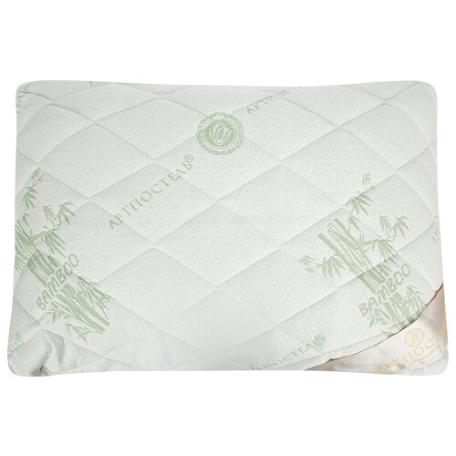 Подушка АртПостель 1082 48 х 68 см белый/зеленый