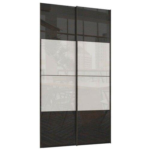 Двери раздвижные Stolline для шкафа Марвин-3 СТЛ.299.40 белый/дуб феррара