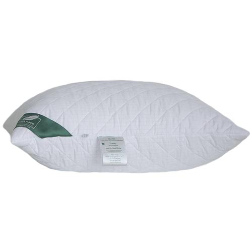 Подушка ANNA FLAUM Energie средняя 70 х 70 см белый в клетку