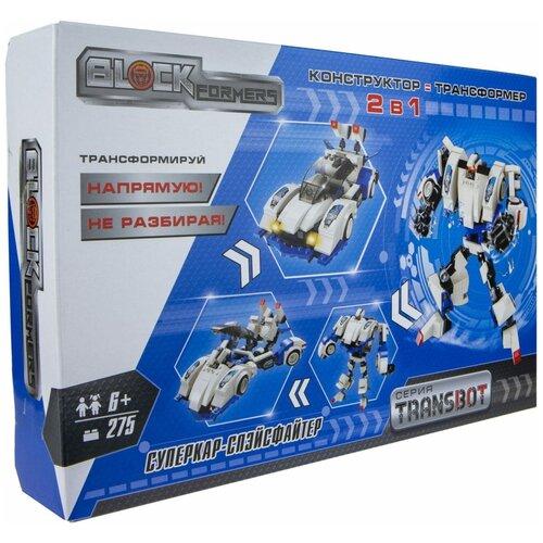Купить Конструктор 1 TOY Blockformers Т19876 Суперкар-Спэйсфайтер, Конструкторы