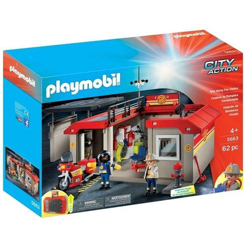 Конструктор Playmobil City Action 5663 Пожарная станция недорого