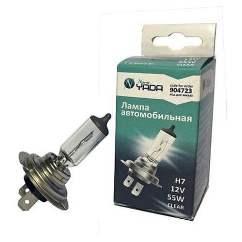 Автолампа H7 12V 55W Nord YADA PREMIUM LONG LIFE 904723 (Производитель: Nord YADA 904723)