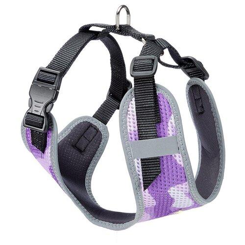 Шлейка Ferplast Nikita Fashion S, обхват шеи 24-31 см, violet