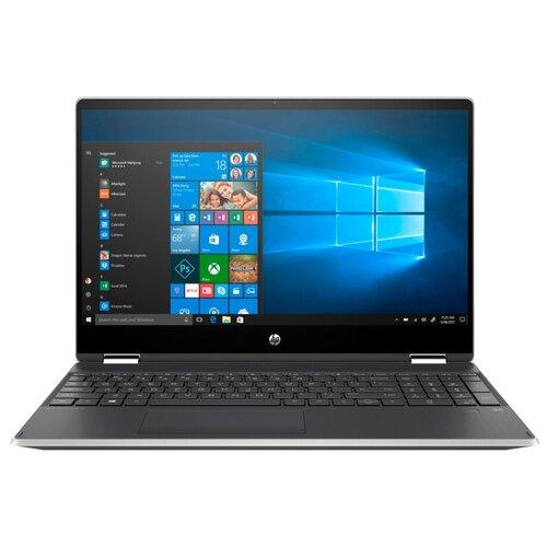 "Ноутбук HP PAVILION x360 15-dq1000ur (Intel Core i3 10110U 2100MHz/15.6""/1920x1080/4GB/256GB SSD/Intel UHD Graphics/Windows 10 Home) 9PU45EA естественный серебряный"