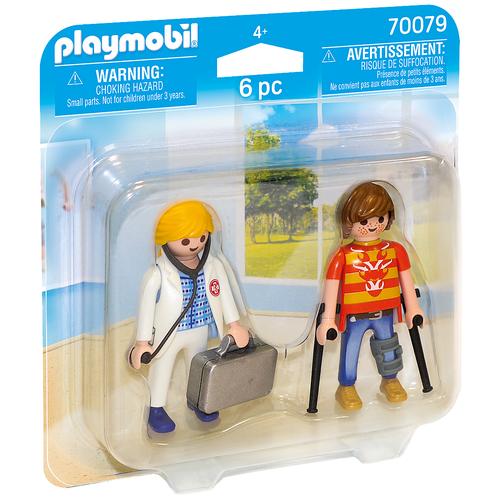 Конструктор Playmobil City Life 70079 Доктор с пациентом