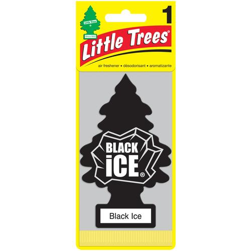 Little Trees Ароматизатор для автомобиля Ёлочка Черный лед (Black Ice) 10 г little trees ароматизатор для автомобиля ёлочка не курить no smoking