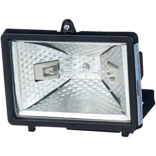 Прожектор галогенный 150 Вт IEK ИО150 черный IP54