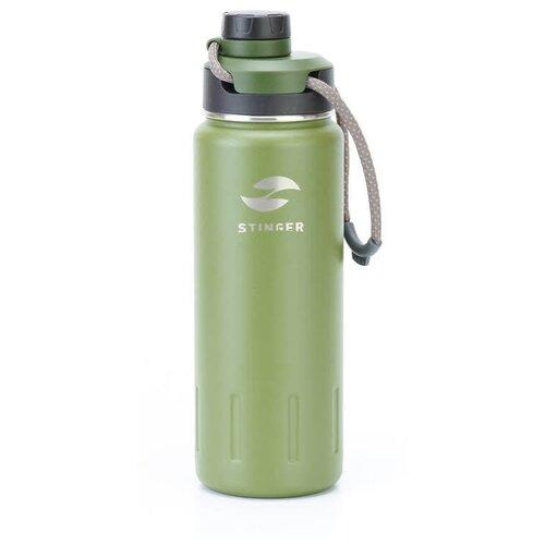 Термобутылка STINGER HD-710-46, 0.71 л зеленый мох