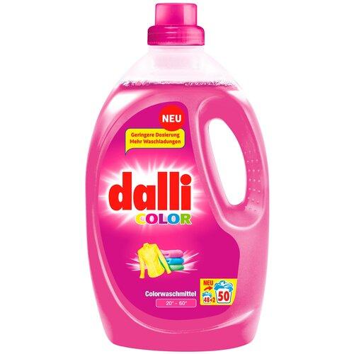 Фото - Гель для стирки Dalli Color для цветного белья, 2.75 л, бутылка гель для стирки dalli sport