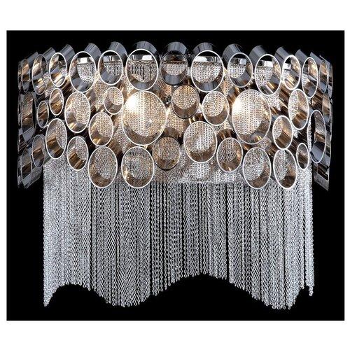 Настенный светильник Crystal Lux Hauberk AP2, 120 Вт настенный светильник crystal lux alegria ap2 silver brown 120 вт
