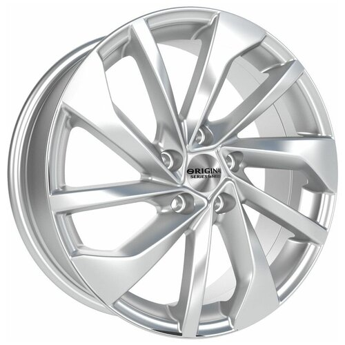 Фото - Колесный диск SKAD KL-276 7х18/5х114.3 D66.1 ET45, silver колесный диск skad турин 6 5x16 5x114 3 d60 1 et45 алмаз