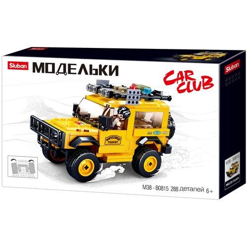Конструктор SLUBAN Модельки M38-B0815 Внедорожник