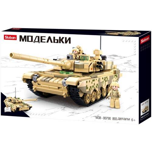 Конструктор SLUBAN Модельки M38-B0790 Боевой танк