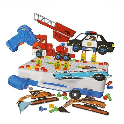 Shantou Gepai Конструктор-скрутка, Y23271020 разноцветный конструктор shantou gepai наша игрушка 3d магнитный 52 детали 703 631105