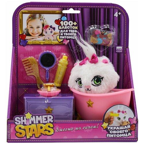 Мягкая игрушка Shimmer Stars Котенок Джелли Бин в ванной комнате 13 см