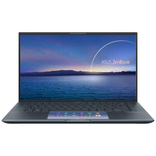 "Ноутбук ASUS ZenBook 14 UX435EA-A5006T (Intel Core i5 1135G7 2400MHz/14""/1920x1080/8GB/512GB SSD/Intel Iris Xe Graphics/Windows 10 Home) 90NB0RS1-M01610 серый"