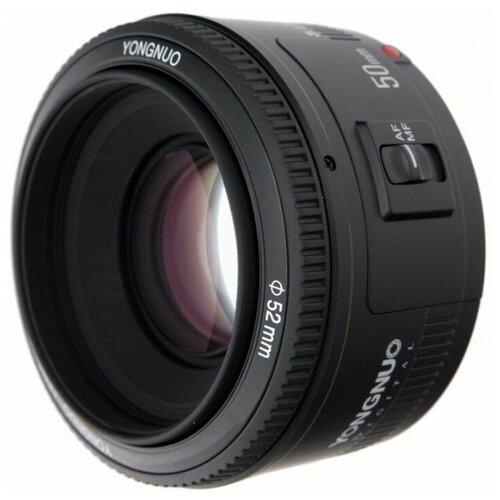 Объектив YongNuo YN50mm F1.8 AF Canon черный