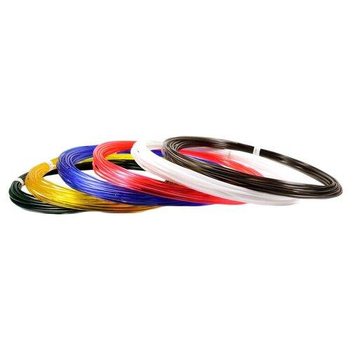 PRO пруток UNID 1.75 мм 6 цветов краски unid эбру индиго 20ml 3шт eumix2