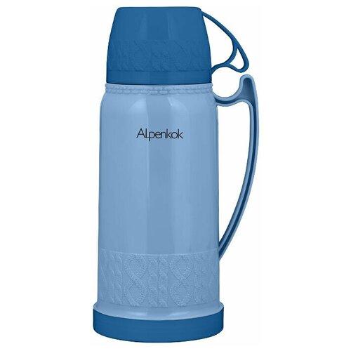Классический термос Alpenkok AK-10022S/AK-10020S, 1 л синий