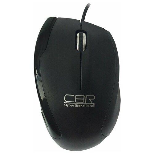 Мышь CBR CM 307 Black USB, черный