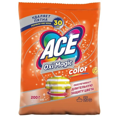 Ace Пятновыводитель Oxi Magic Color, 200 г