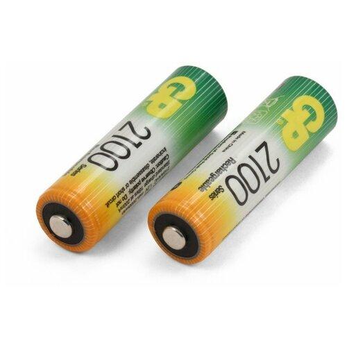Фото - Аккумуляторы типа AA GP (комплект 2 штуки) 2100mAh аккумуляторы типа aa varta longlife комплект 4 штуки 2100mah