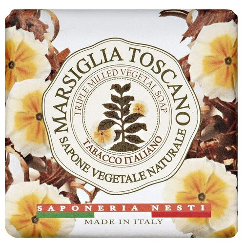 Мыло кусковое Nesti Dante Marsiglia Toscano Tabacco Italiano, 200 г недорого