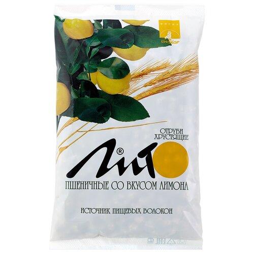 Отруби Лито пшеничные хрустящие сладкие с кальцием (со вкусом лимона), 200 г отруби сибирские пшеничные с черникой 200 г