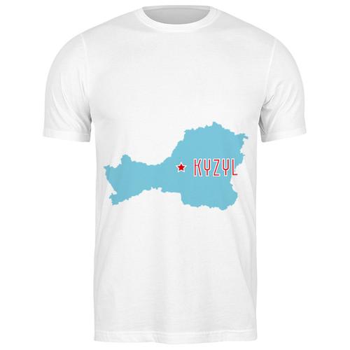 Футболка классическая Республика Тыва. Кызыл #2189408 (цвет: БЕЛЫЙ, пол: МУЖ, качество: ЭКОНОМ, размер: M)