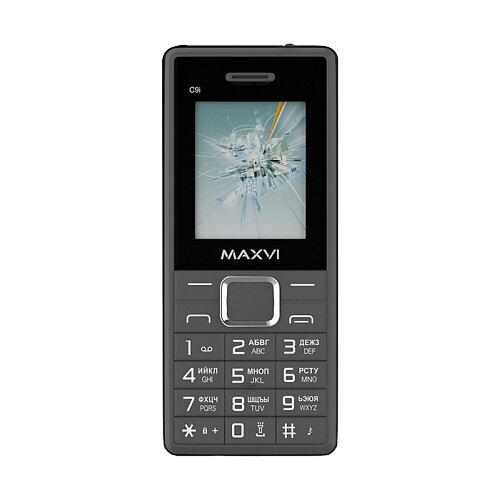 Телефон MAXVI C9i черный/серый