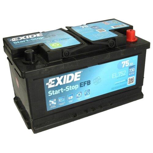 Автомобильный аккумулятор Exide Start-Stop EFB EL752