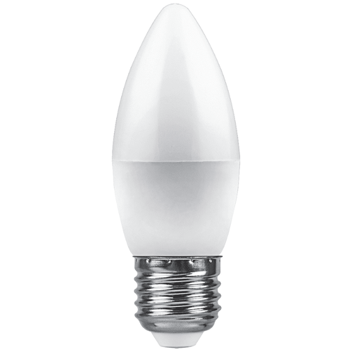 Фото - Лампа светодиодная Feron LB-570 Свеча E27 9W 4000K (упаковка 10 шт) лампа светодиодная feron lb 65 25822 e27 e40 70w 4000k цилиндр матовая