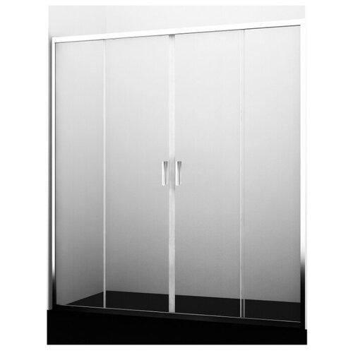 Раздвижные двери WasserKRAFT 45S08 серебряный хром глянцевый